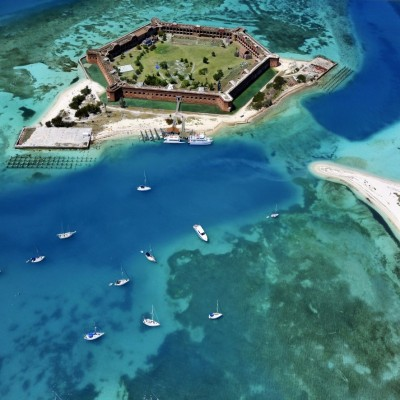 Fort Jefferson, Dry Tortugas. Foto Copyright: Rob O'Neal