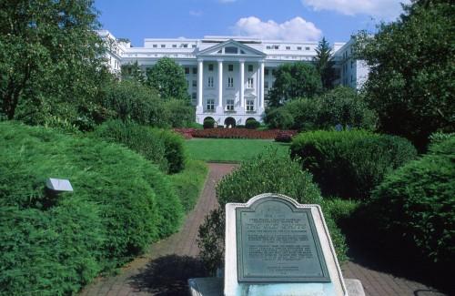 Greenbrier Resort: Foto: West Virginia/ Division of Tourism