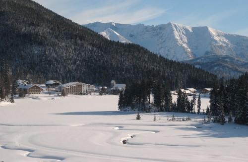 Winter pur. Foto: Arabella Alpenhotel am Spitzingsee.