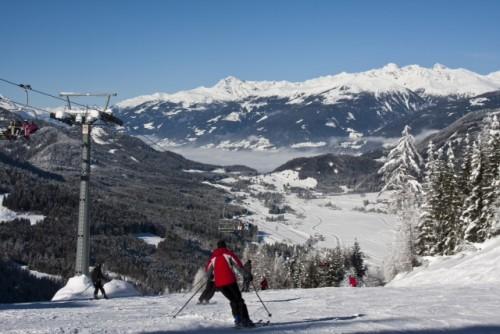 Skifahren im Naturpark Weissensee. Foto: weissensee.com