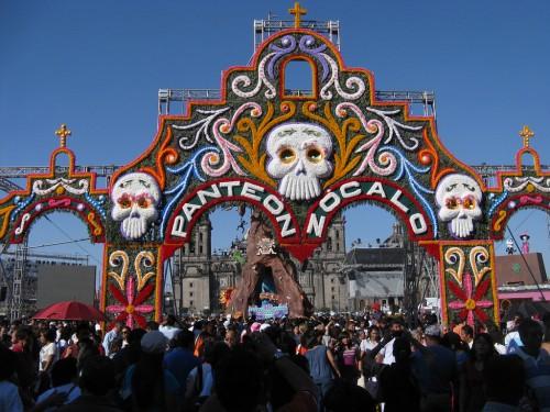Tag der Toten in Mexico Stadt ©nmarritz_flickr