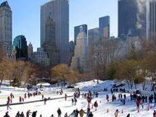 Schlittschuh Central Park