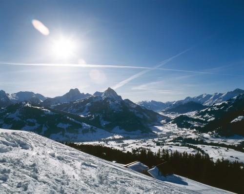Gstaad Winterlandschaft ©Gstaad Saanenland Tourismus.