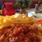 Currywurst-hoch