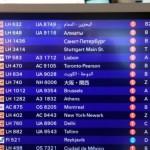 Neue Anzeigetafeln am Frankfurter Flughafen Foto: Fraport