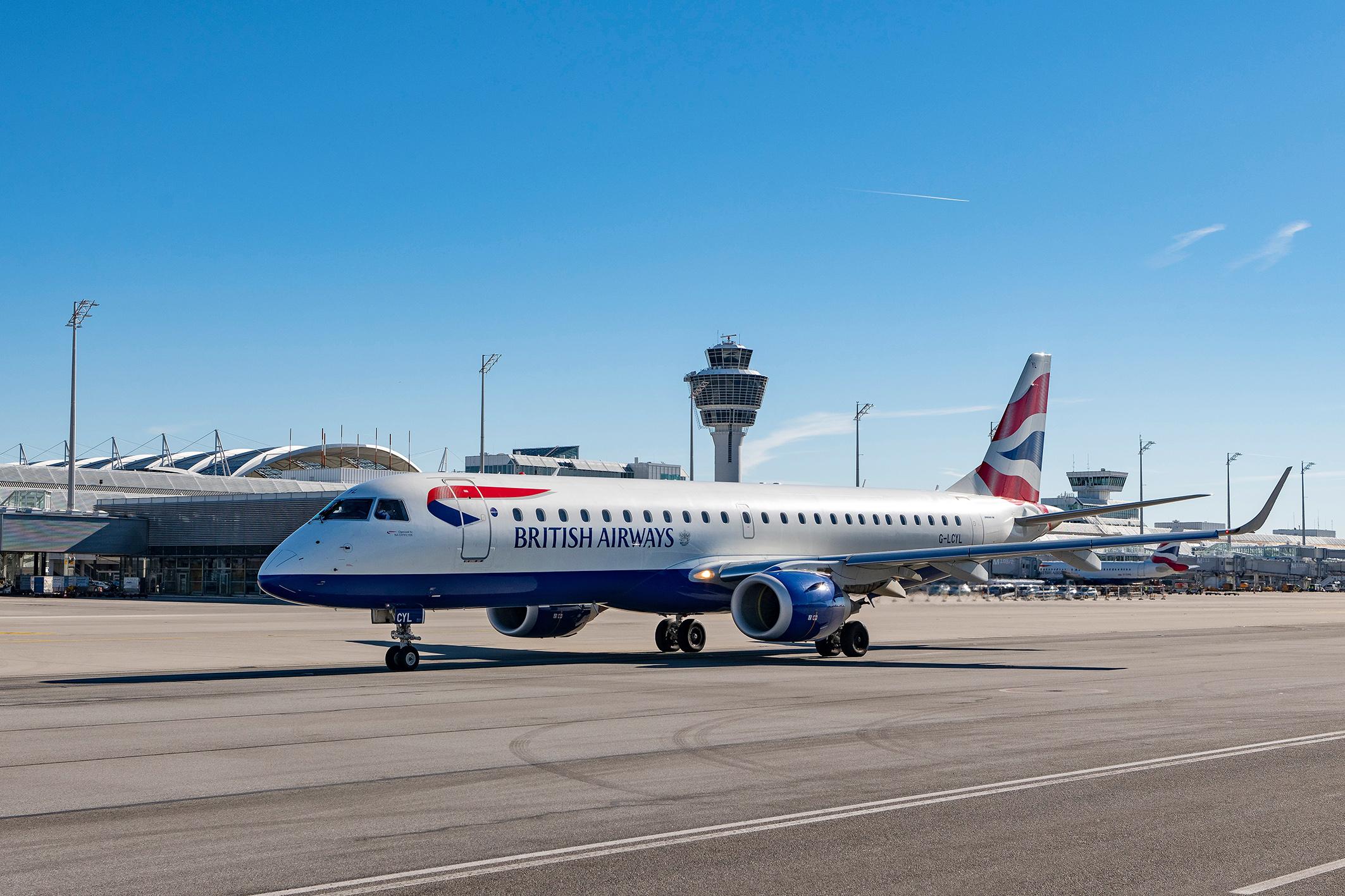 Neue Verbindung Ba Cityflyer Startet Täglich Von München